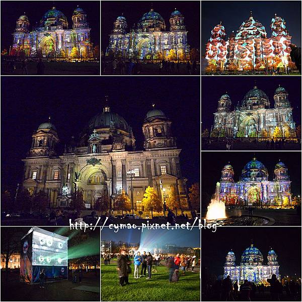 2013 Festival of Lights in Berlin