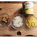 玉米菇菇飯