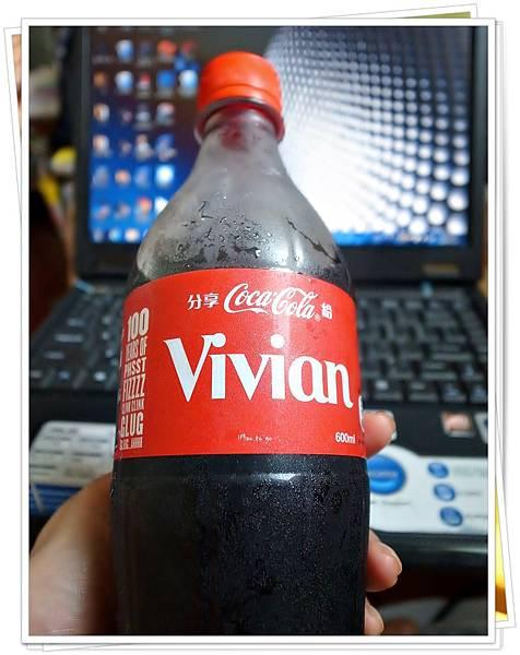 可口可樂曲線瓶100週年紀念-姓名瓶
