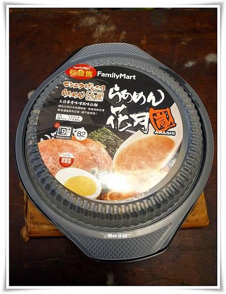 2015.12.23 全家花月嵐大蒜拳骨拉麵 01.JPG
