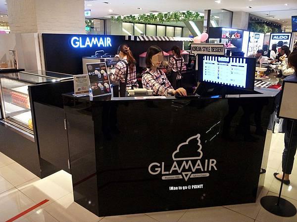 台中市 新光三越百貨公司B1 GLAM AIR 棉花糖冰淇淋01.JPG