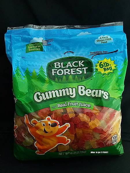 Costco好事多 Black Forest Gummy Bear 咁貝熊軟糖 01.JPG