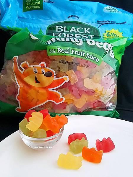 Costco好事多 Black Forest Gummy Bear 咁貝熊軟糖 11.JPG
