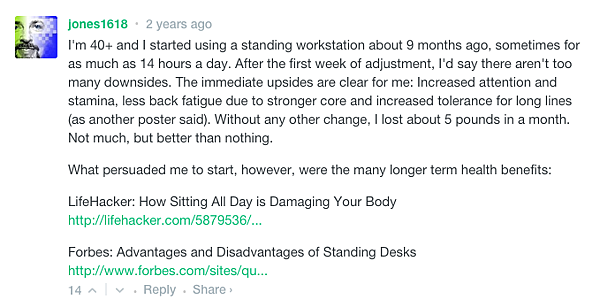What Happens When You Stand For 2 Years.Today I Learned...