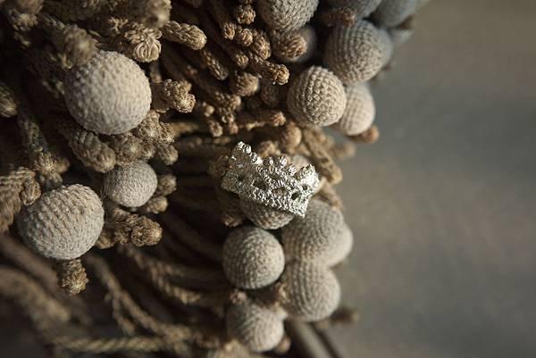 微光閃耀蕾絲戒指