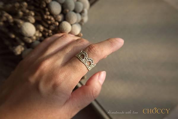 迷你小皇冠戒指