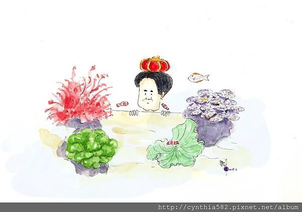 (大檔)02小國王海水缸之海葵不受控jpg.jpg