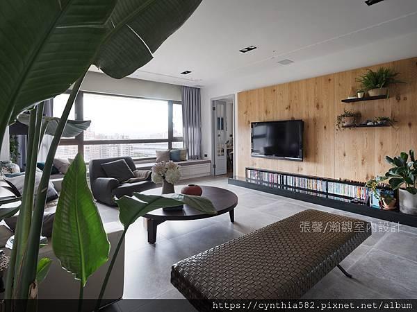 1客廳臥榻實木電視牆現代簡約室內設計裝潢裝修.jpg