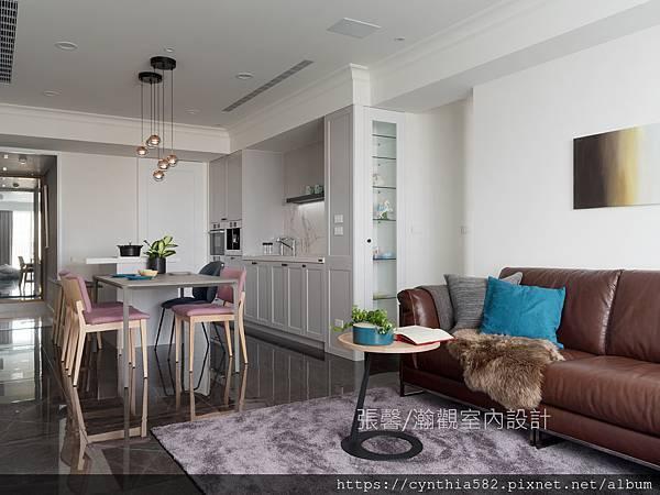 5張馨室內設計風格裝修裝潢地坪石材客廳美式風現代古典鄉村.jpg