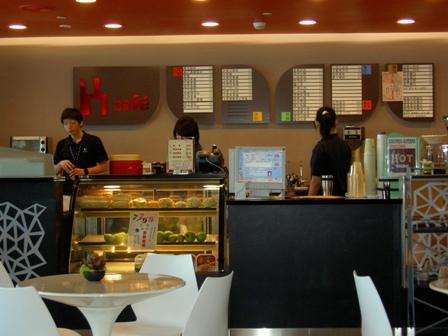 K-COFFEE前衛的吧台