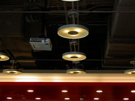 後現代的天花板設計