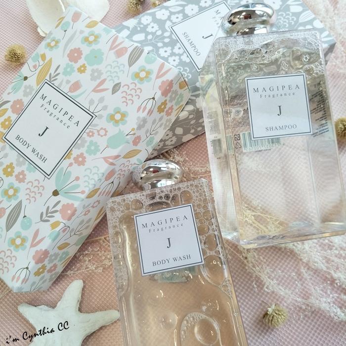 MAGIPEA美極品沐絲系列 沐浴乳洗髮精 英國梨小蒼蘭的香水雨