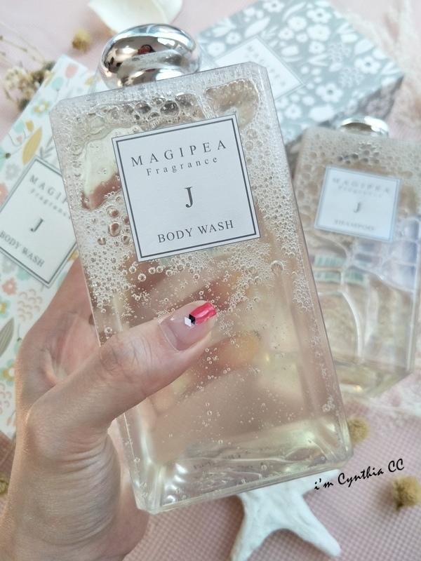 MAGIPEA美極品沐絲系列 沐浴乳 英國梨小蒼蘭的香水雨