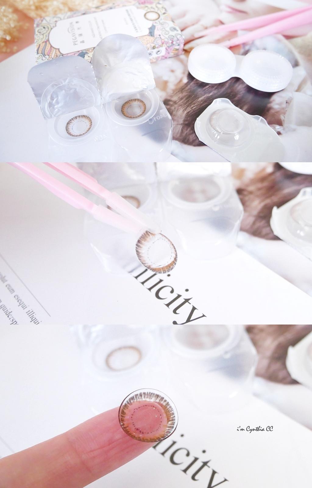 晶碩光學炫彩系列彩色月拋軟性隱形眼鏡-炫彩灰&炫彩棕-放大片