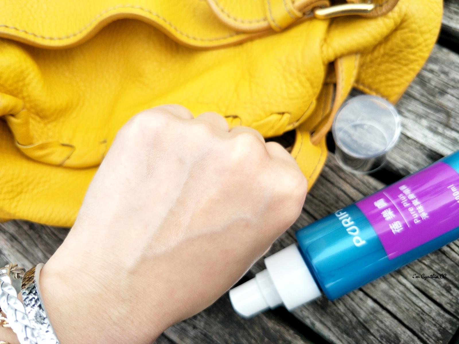 蓓樂膚PURIFY淨味爽膚劑和淨味爽身噴霧
