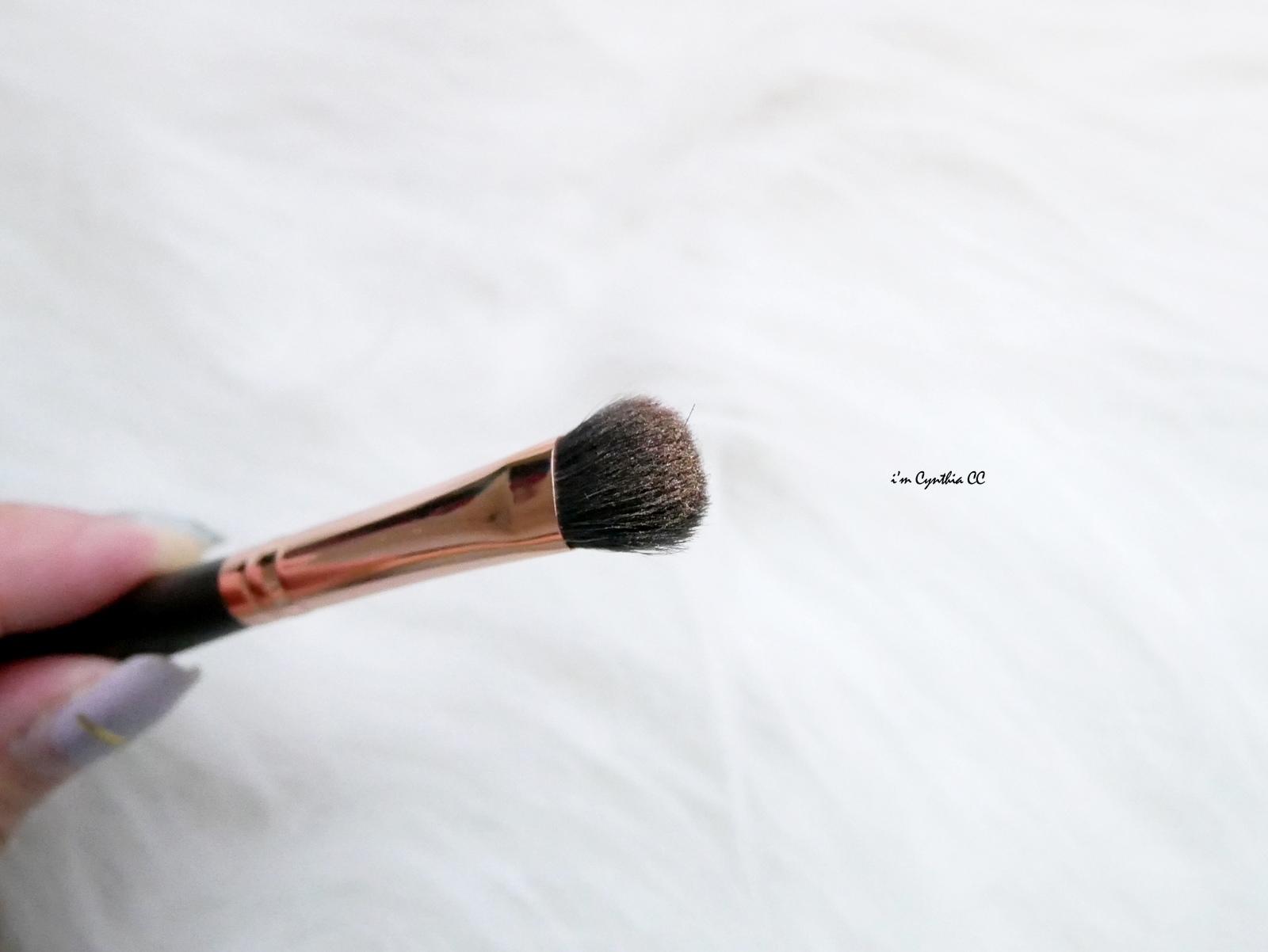 Rivau Beauty頂級灰鼠混羊毛刷具 新手也能輕鬆駕馭眼妝暈染和煙燻妝