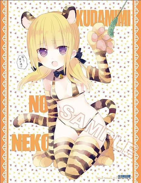 鏈愛式神貓巫女(1)_首刷贈品雙面畫卡B面