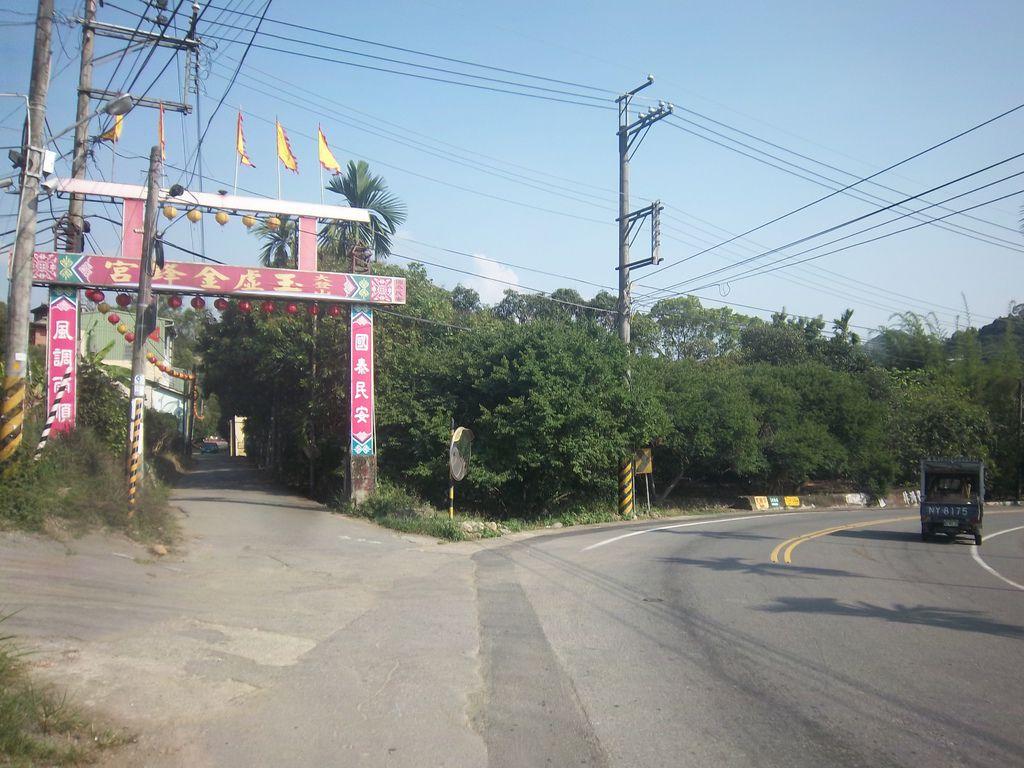 地名「福利社」巷道進入後橋頭在右側小路