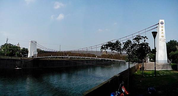 烏日吊橋 全景