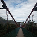 橋上兩側的喜鵲