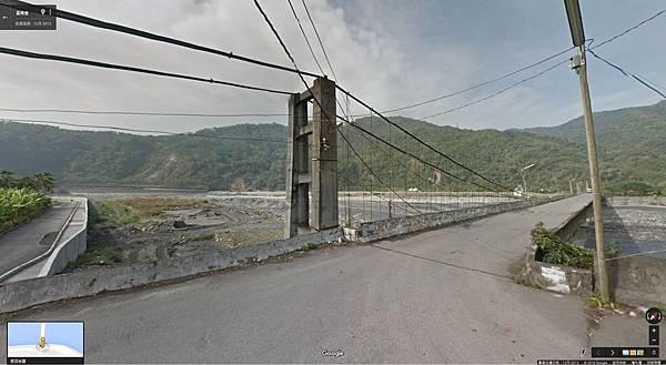 青雲吊橋 Google街景