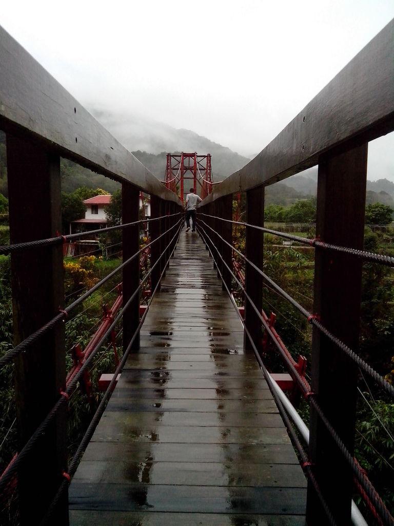 萬豐鐵管吊橋(萬豐村)