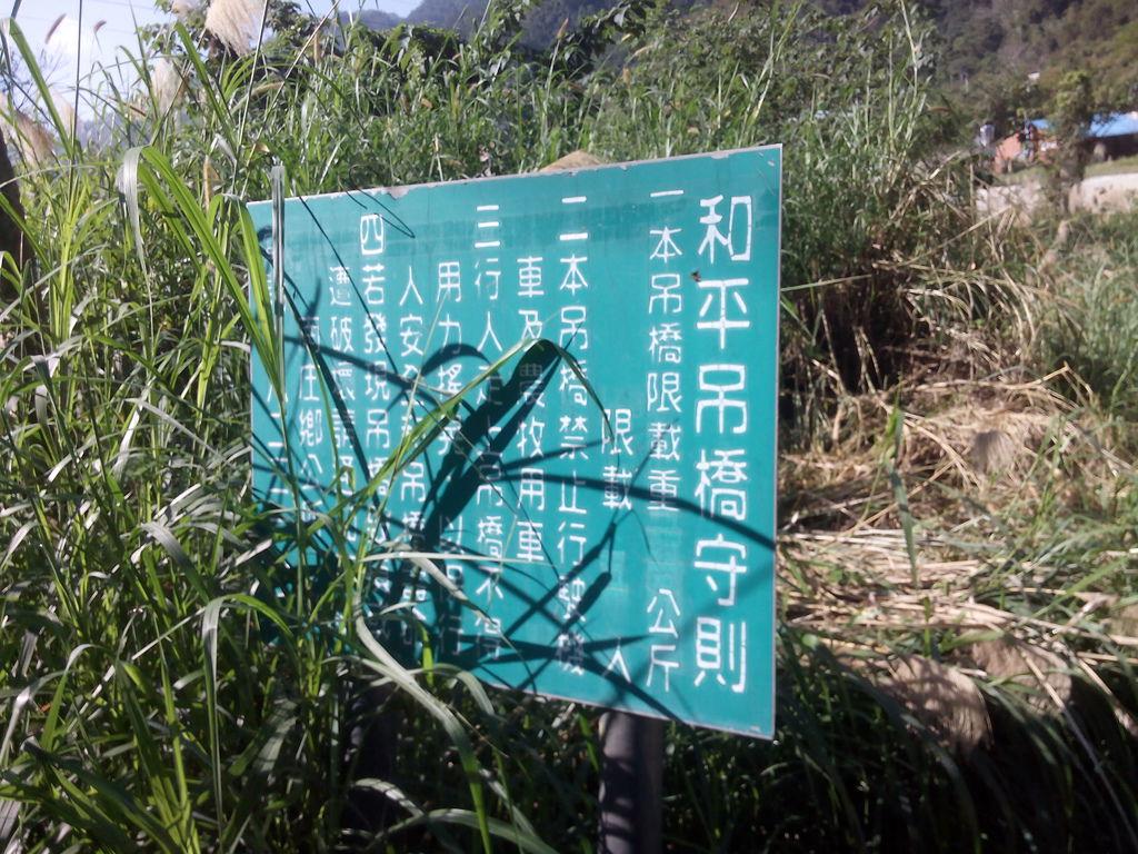 和平吊橋(南庄)