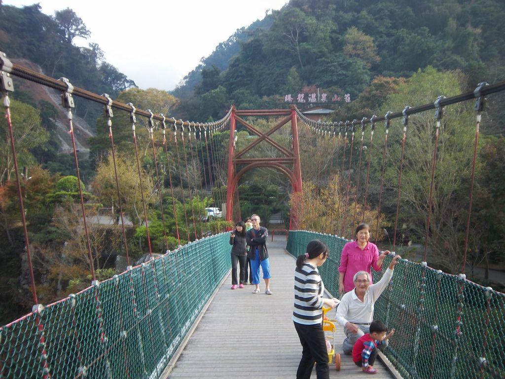 騰龍山莊吊橋(泰安)