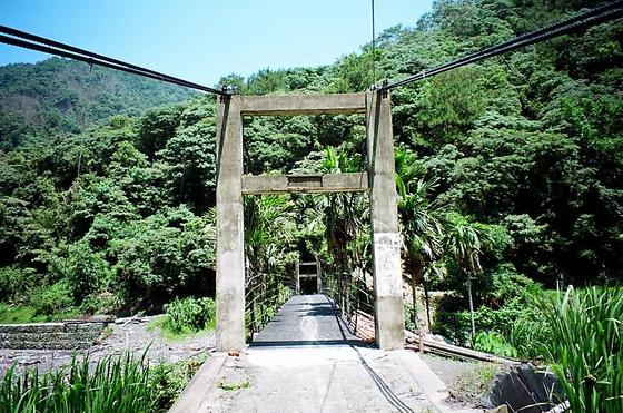 【44】石墩坑吊橋