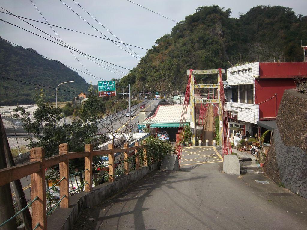 台21線起點 福興吊橋路口