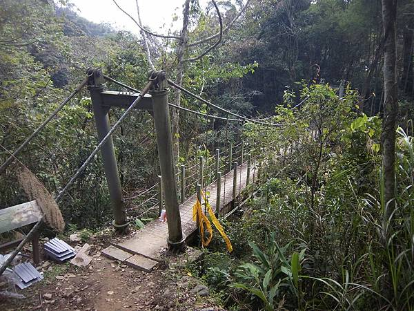 連心池吊橋