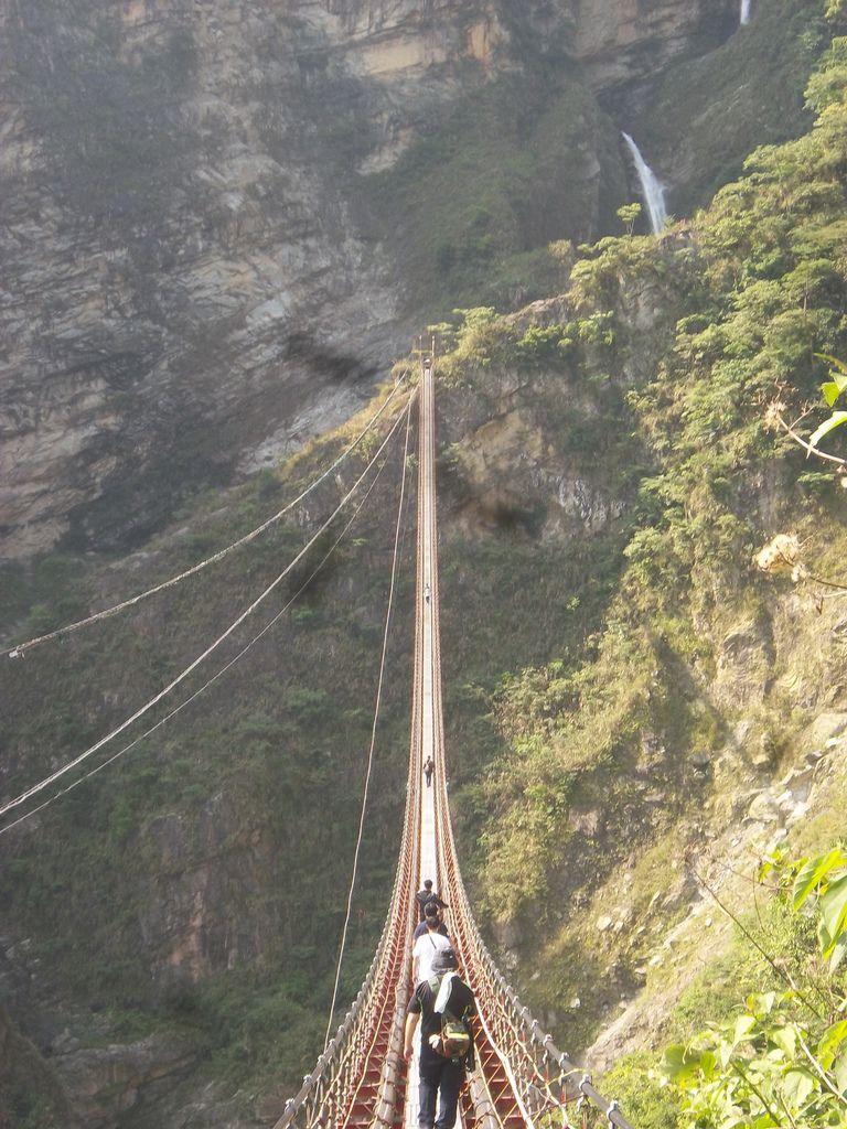 雙龍瀑布吊橋