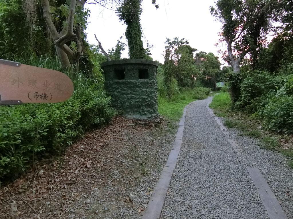 漯底山公園步道口