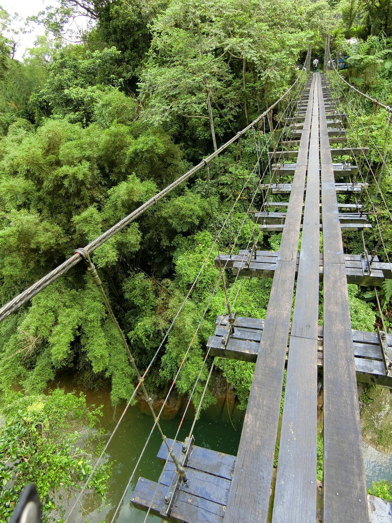 老社寮大坡塘吊橋(關西)