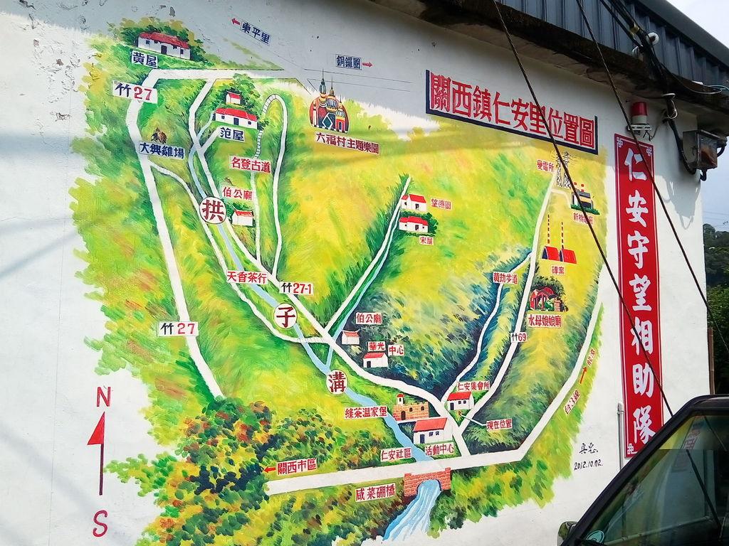 仁安里地圖