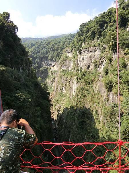 水濂洞吊橋&瀑布