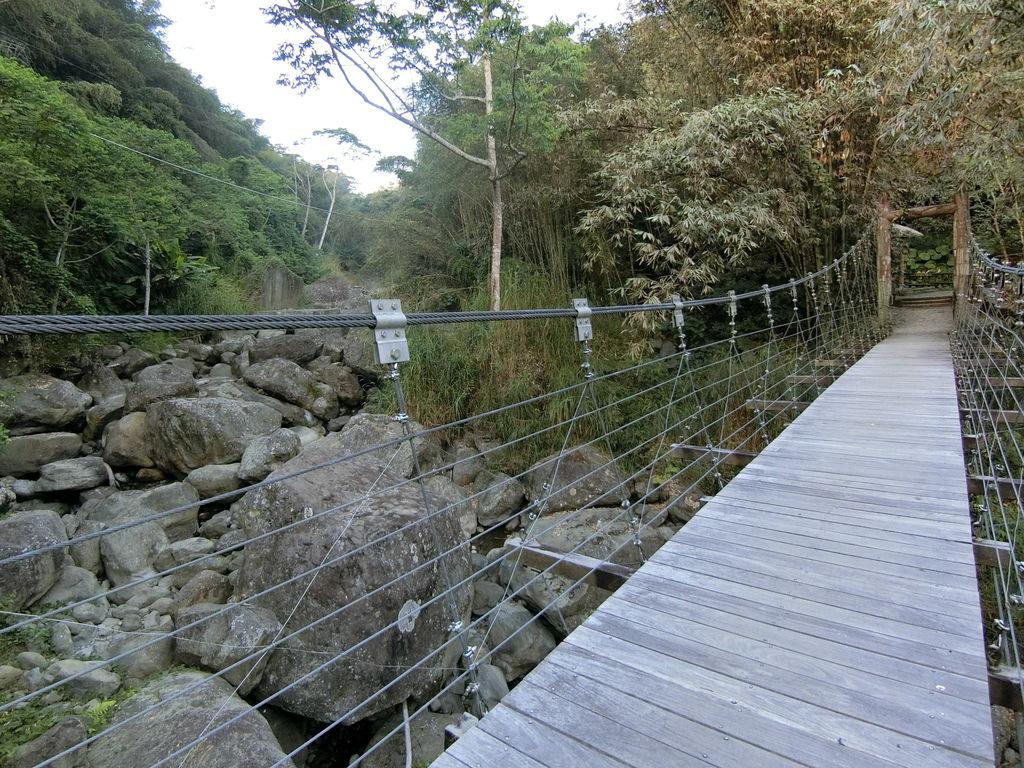 米洋吊橋(樂野村)