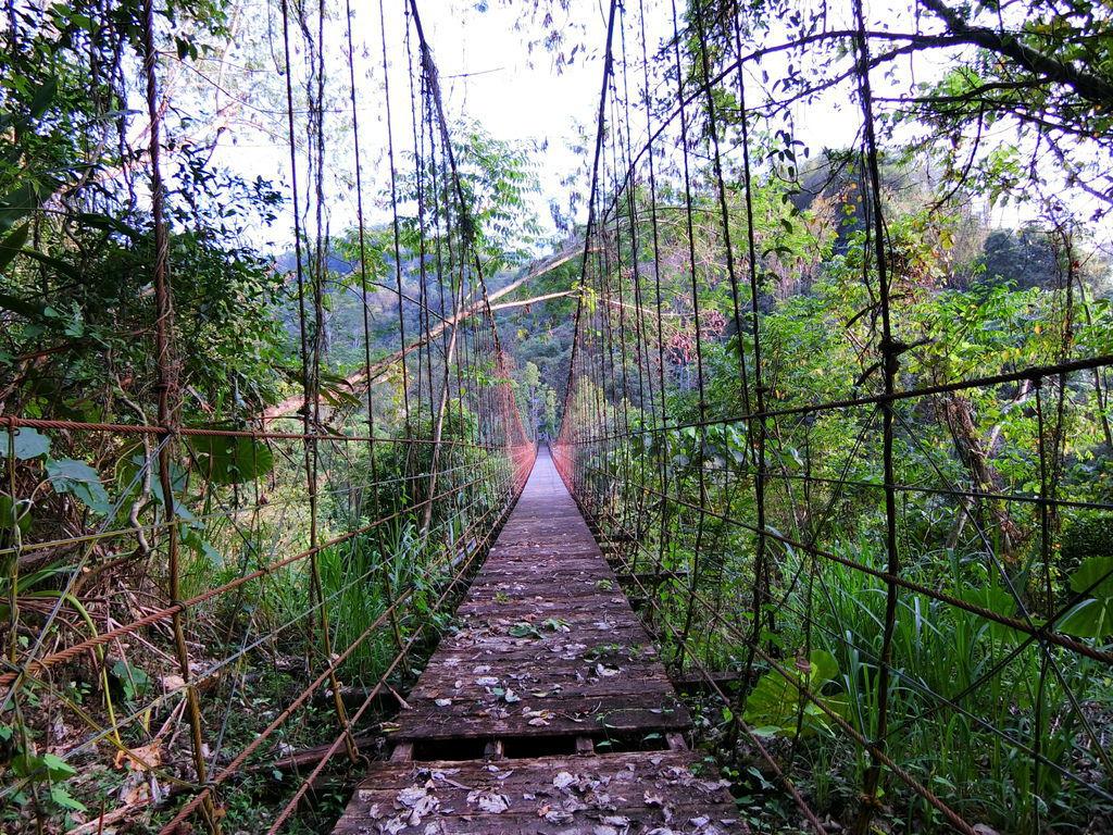 行茶吊橋(茶山村)