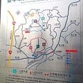 大坑登山步道導覽圖