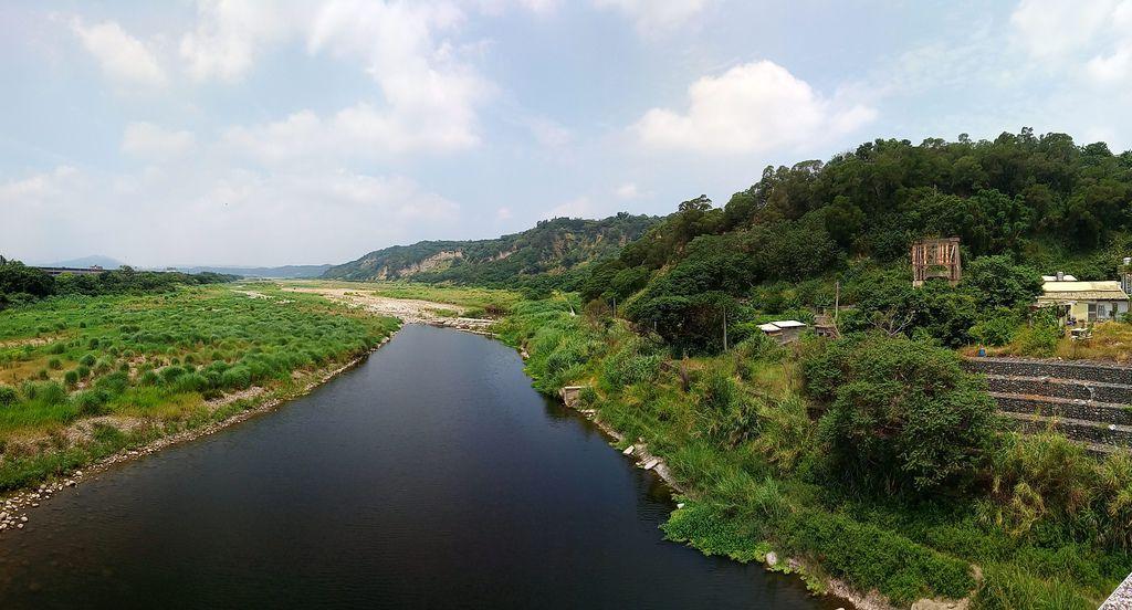 龜山大橋遺跡、後龍溪