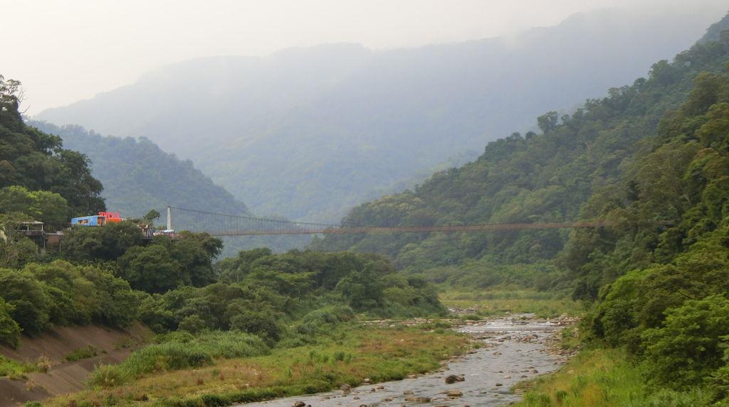攀龍吊橋、油羅溪