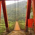 北角吊橋(尖石)