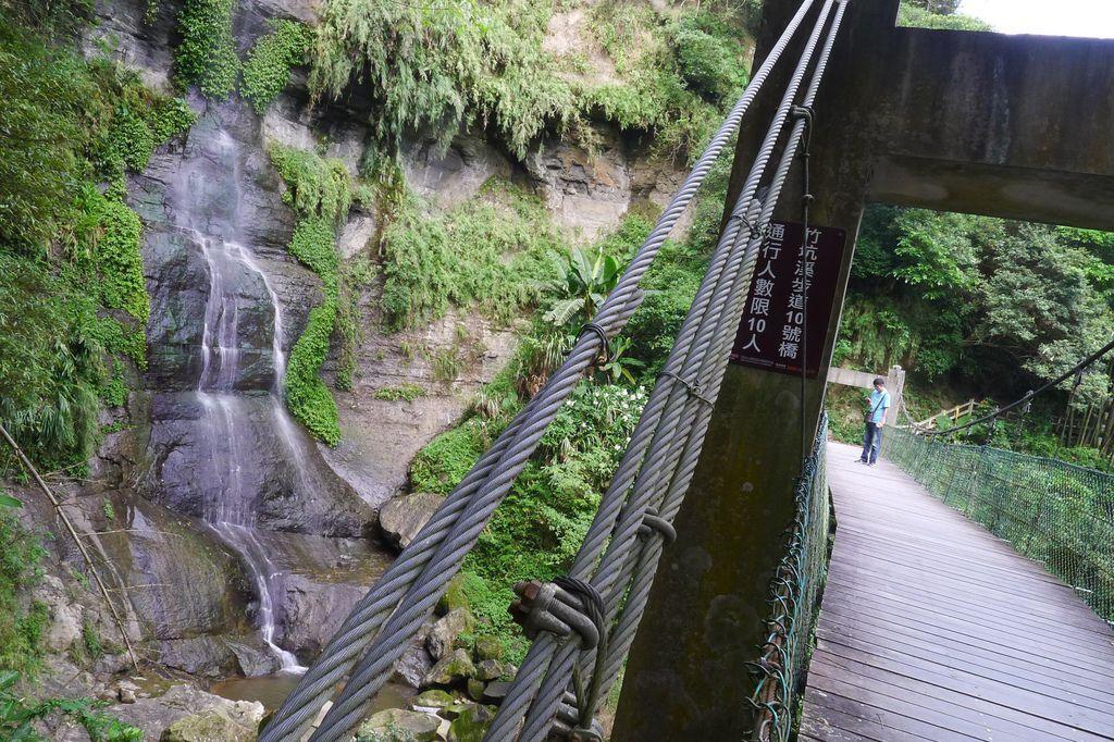 竹坑溪步道10號橋 雷音瀑布