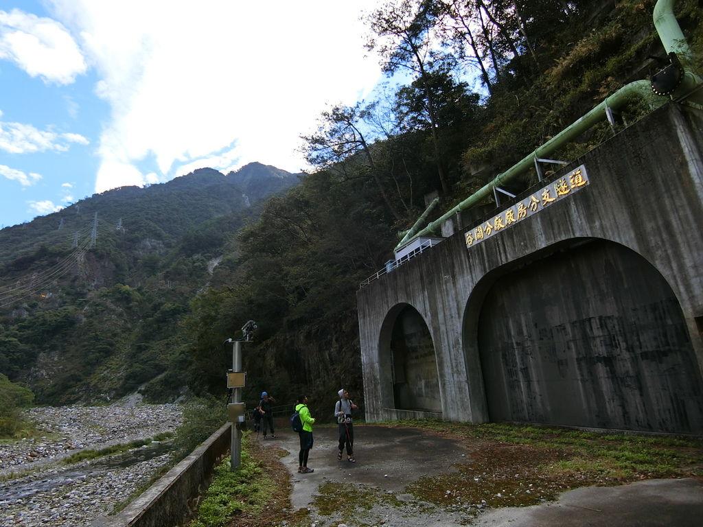 谷關分廠分支隧道