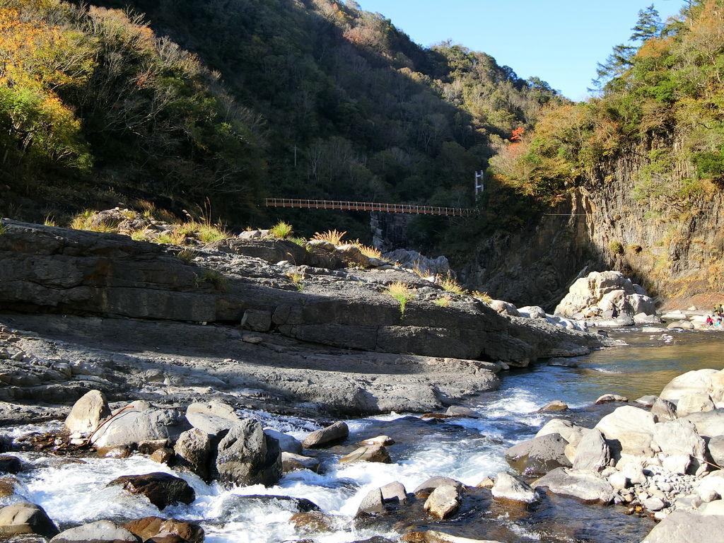 軍艦岩吊橋(尖石)