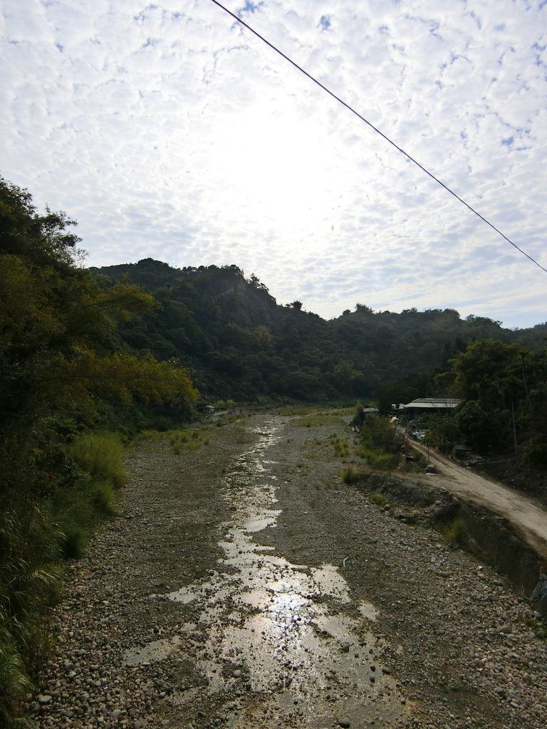 炮仔林吊橋下方東汴坑溪