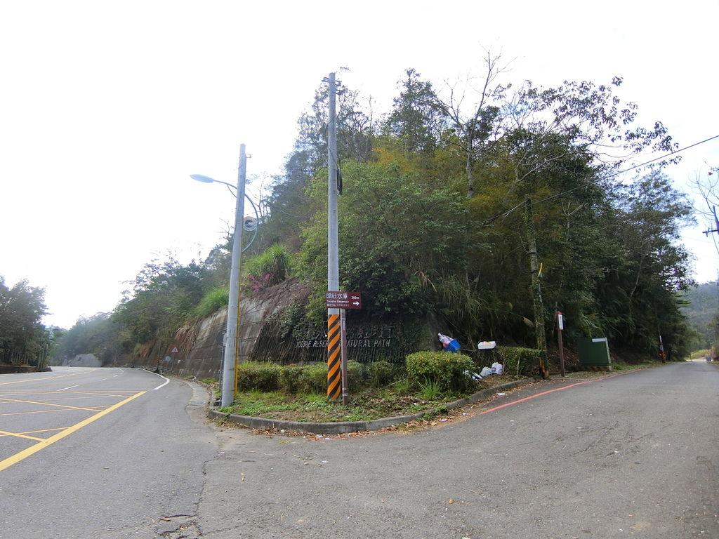 台21線路口岔路