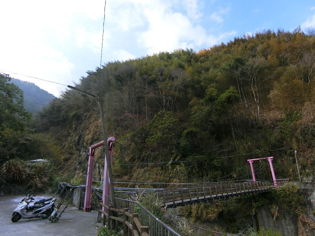 神木村吊橋