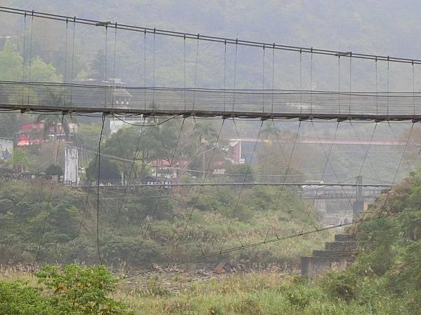 三號吊橋>二號吊橋>清泉吊橋>一號吊橋