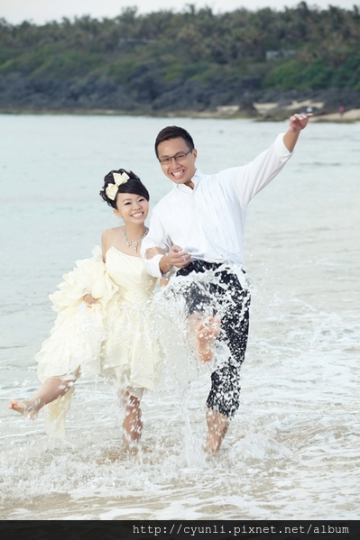 高雄婚紗新人婚紗照,群麗婚紗攝影 樂山樂水放開懷